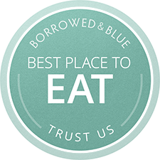 A Borrowed & Blue Best Place to Eat