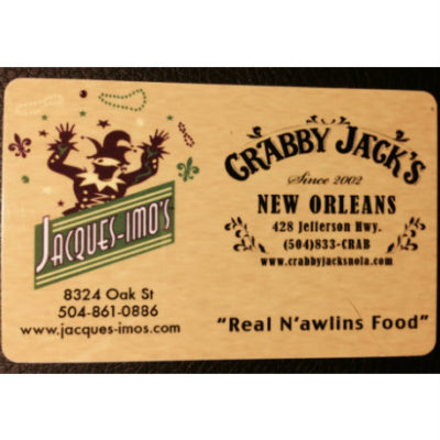 Jacques Imos gift cards2