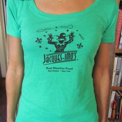 Womens T-shirt Green small