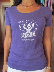 Womens T-shirt Purple